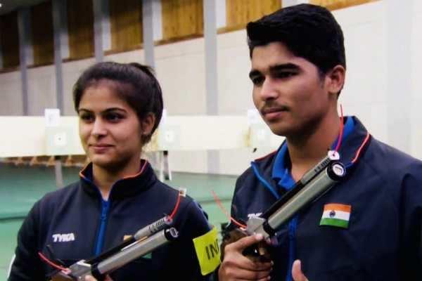 உலகக்கோப்பை துப்பாக்கி சுடுதல்: இந்தியாவுக்கு தங்கம்