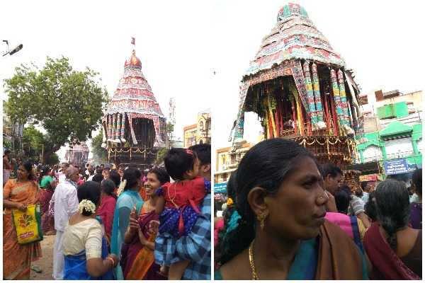 கோலாகலமாக தொடங்கிய சிதம்பரம் நடராஜர் கோவில் தேரோட்டம்!