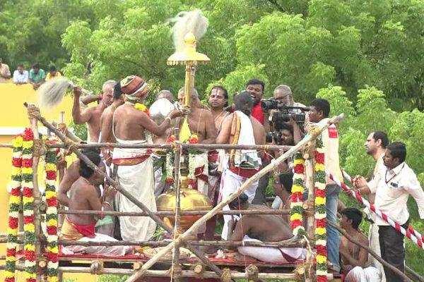 திருச்சி: உறையூர் கமலவல்லி நாச்சியார் திருக்கோவில் கும்பாபிஷேகம்!