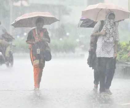 தமிழகத்தில் அடுத்த 2 நாட்களுக்கு 6 மாவட்டங்களில்கனமழை வாய்ப்பு!!