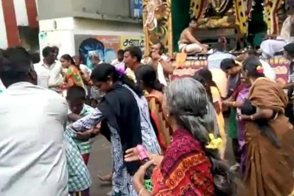 ஆருத்ரா தரிசனம்: ஏராளமான பக்தர்கள் பங்கேற்பு