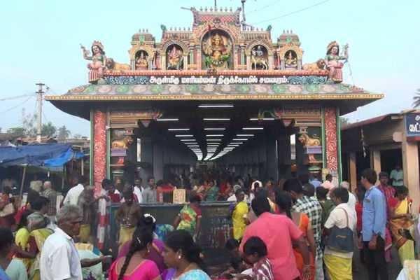 சமயபுரம் மாரியம்மன் கோவில் பூச்சொரிதல் விழா!
