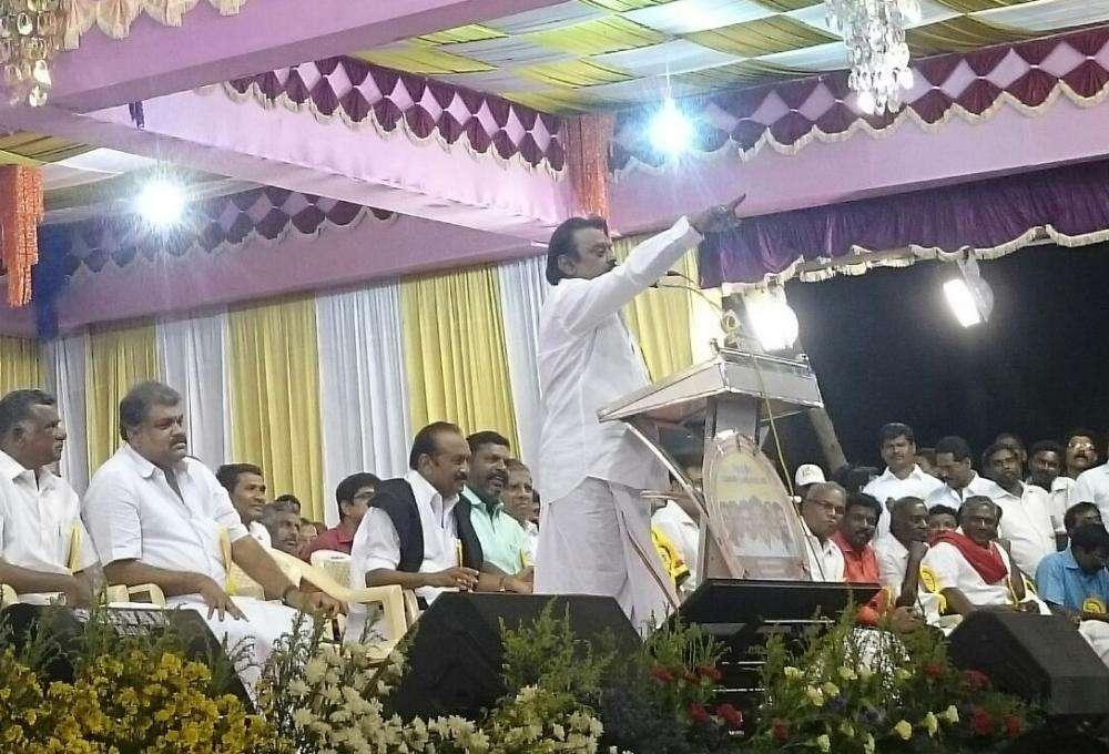 கருணாநிதியை கதற வைத்த விஜயகாந்த்... காத்திருந்து கருவறுத்த திமுக!