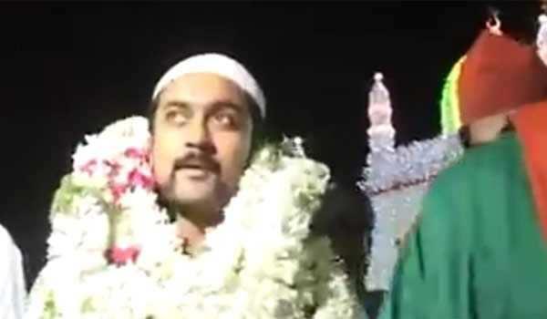 மதம் மாறினாரா நடிகர் சூர்யா? வீடியோவால் பரபரப்பு