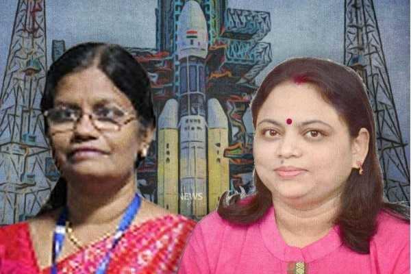 சந்திராயன் - 2 : பெண்களின் பெருமையை நிலவுக்கே கொண்டு செல்லும் இரு மாதர்கள்!