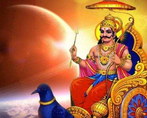 சர்வேஸ்வரனையும் விட்டு வைக்காத சனீஸ்வரன்......