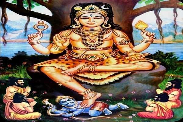 ஆன்மீக செய்தி -  தர்மத்தின் வடிவமான தட்சிணாமூர்த்தியின் 24 வடிவங்கள்