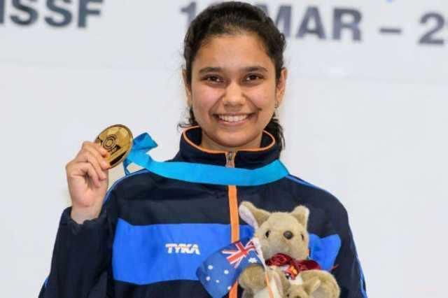 உலக கோப்பை துப்பாக்கி சுடுதல்: இந்திய வீராங்கனை முஸ்கன் பான்வாலா தங்கம் வென்றார்