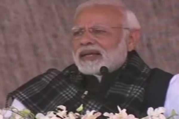 ஜார்க்கண்ட்:  காங்கிரஸ் மீது பிரதமர் மோடி பாய்ச்சல்...!