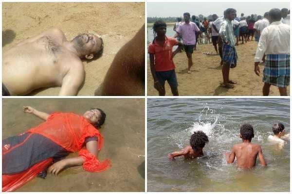 காவிரி ஆற்றில் மூழ்கி 2 சிறுவர்கள் உள்பட 6 பேர் பலி