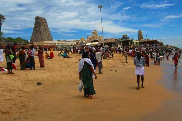 திருச்செந்தூர் கடலில் குளிக்க பக்தர்களுக்கு தடை