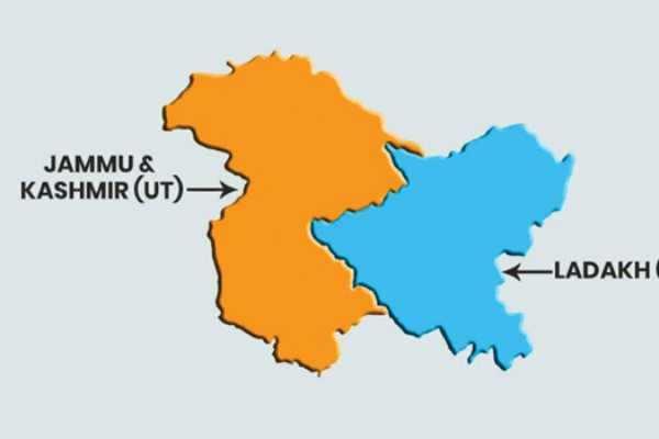 யூனியன் பிரதேசங்களானது ஜம்மு காஷ்மீர், லடாக்!