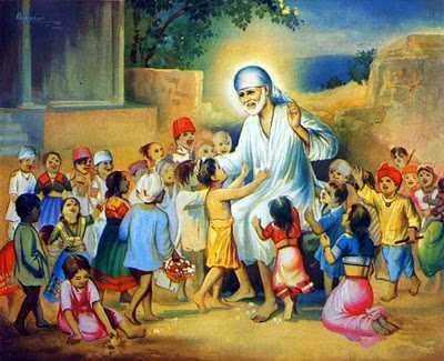 சாய்பாபா திருப்தியுடன் இருந்தார்