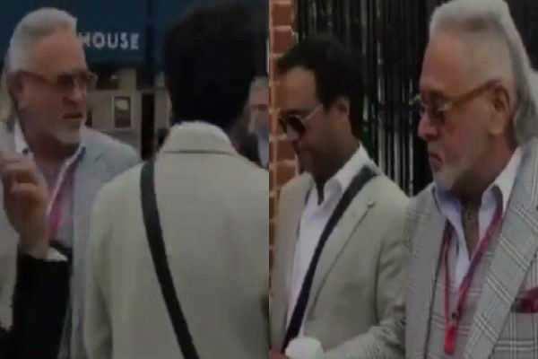 இந்தியா- இங்கிலாந்து டெஸ்ட்: நேரில் கண்டுரசித்த விஜய் மல்லையா!