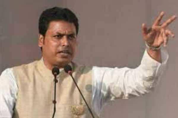 இந்தியா யாரிடம் இருந்தும் பாடம் கற்க தேவையில்லை : திரிபுரா முதலமைச்சர்