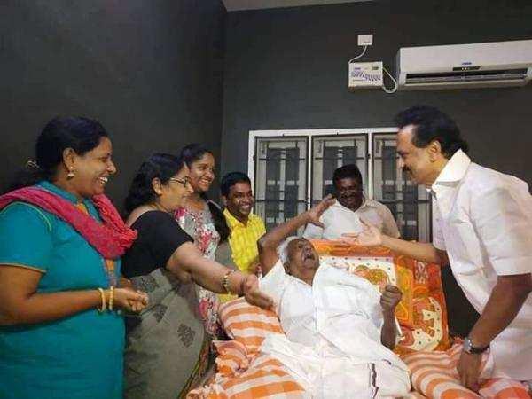 திமுக முன்னாள் எம்.பி எஸ். சிவசுப்பிரமணியன் காலமானார்!