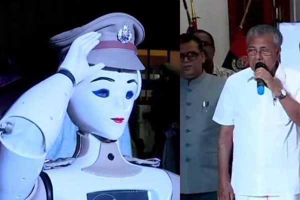 இந்தியாவின் முதல் போலீஸ் ரோபோ
