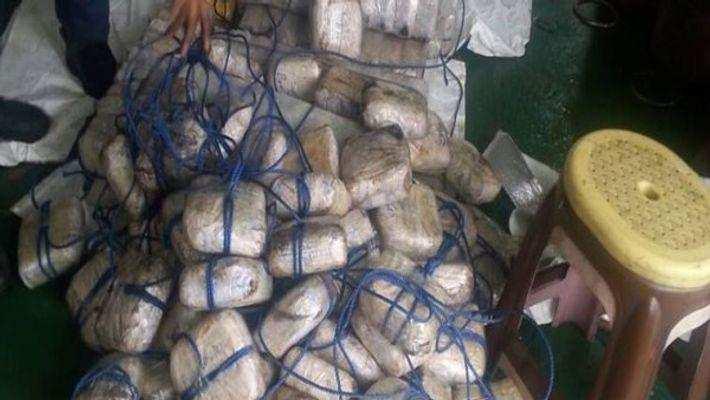 இந்தியாவுக்குள் கடத்த முயன்ற 175 கோடி ரூபாய் மதிப்பிலான போதைப்பொருள் பறிமுதல்..!