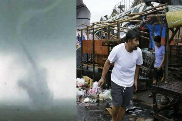பிலிப்பைன்ஸை புரட்டி போட்ட மங்குட் புயல்: 25 பேர் பலி