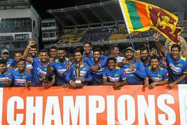 தென் ஆப்பிரிக்காவுக்கு எதிரான டி20 போட்டியை வென்றது இலங்கை