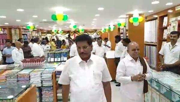 கோவையில் ராம்ராஜ் காட்டன் ஷோரூம் திறப்பு!