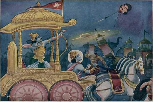மஹாபாரத கதை – தீதும் நன்றும் பிறர் தர வாரா