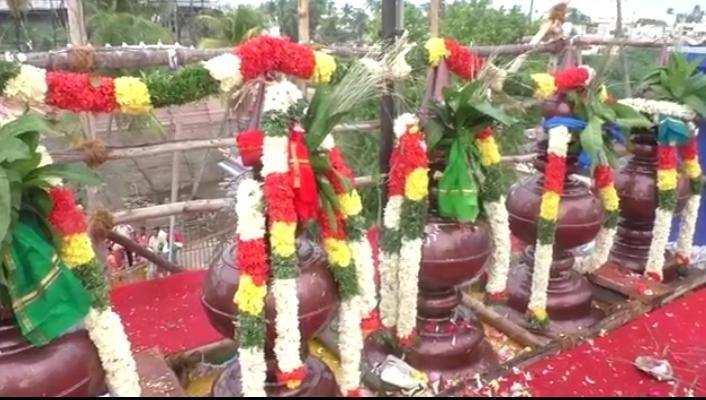 மண்ணச்சநல்லூர் அருள்மிகுஉத்தமர்கோயில்கும்பாபிஷேகவிழா!