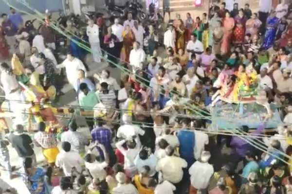 கோவை: வெகு விமர்சையாக நடைபெற்ற சூரசம்ஹார நிகழ்ச்சி!