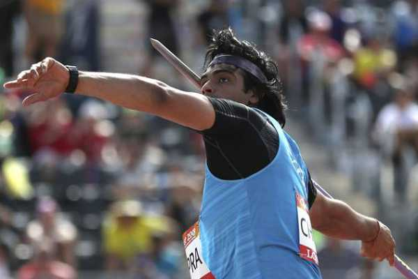 சர்வதேச ஈட்டி எறிதலில் இந்தியாவின் நீரஜ் சோப்ரா தங்கம் வென்றார்