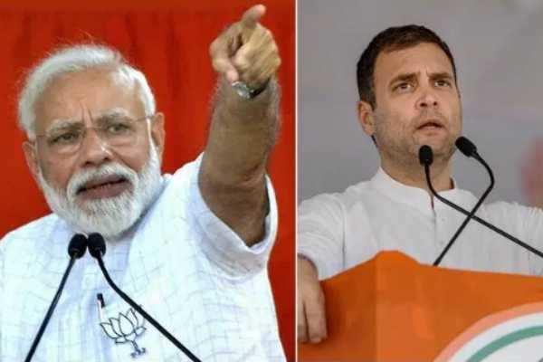 தேர்தல் பிரச்சாரங்களின் இறுதி நாட்களில் பாஜக மற்றும் காங்கிரஸ் கட்சிகள்