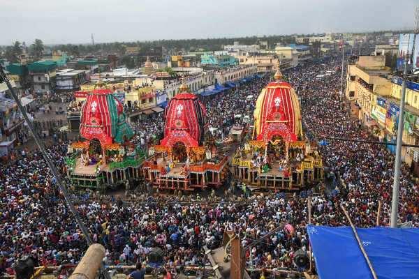 புரி ஜெகந்நாதர் கோவில் ரத யாத்திரை இன்று கோலாகலமாகத் தொடங்கியது!