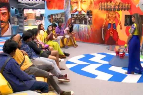 டாஸ்கில் யாரு பெஸ்ட் : மோதிக்கொள்ளும் பிக் பாஸ் போட்டியாளர்கள்!