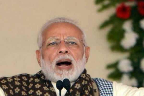 தெய்வத்தின் பெயரை 'தீதீ'யால் கேட்கமுடியவில்லை: பிரதமர் மாேடி கடும் தாக்கு