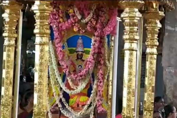 ஸ்ரீஆதிகும்பேஸ்வரர் கோயில் புஷ்பாபிஷேக விழா!