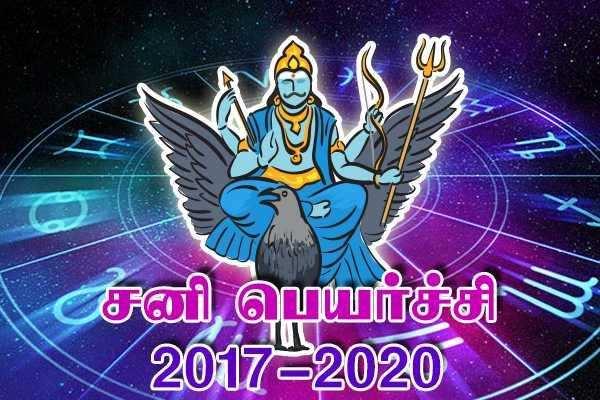 சனிப் பெயர்ச்சி பலன்கள் - 2018