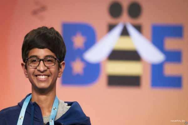 அமெரிக்க 'ஸ்பெல்லிங் பீ' போட்டியில் தொடர்ந்து சாதிக்கும் இந்திய வம்சாவளியினர்
