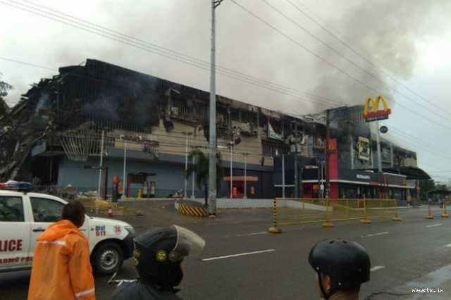 பிலிப்பைன்ஸில் தீ விபத்து; 37 பேர் பலி