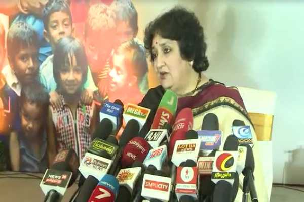 குழந்தைகளுக்கு எதிரான குற்றங்கள் அதிகரித்து வருவது வேதனை அளிக்கிறது: லதா ரஜினிகாந்த்