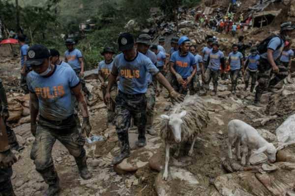 உஸ்மான் புயல் தாக்கி பிலிப்பைன்ஸில் 68 பேர் பலி