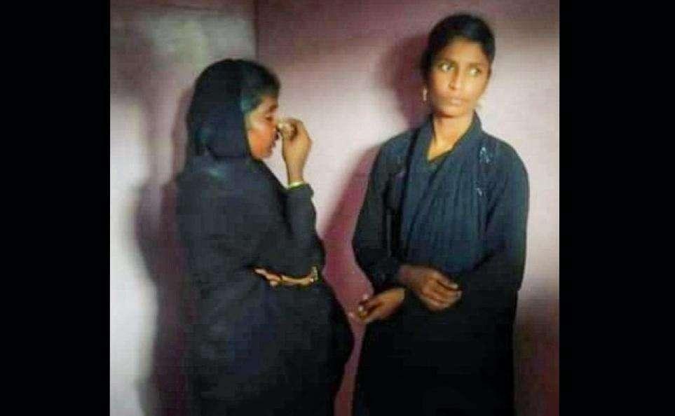 கூட்டம் அதிகமாக இருந்த பேருந்தில் பாட்டியிடம் செயினை அபேஸ் செய்த கில்லாடி பெண்கள்...