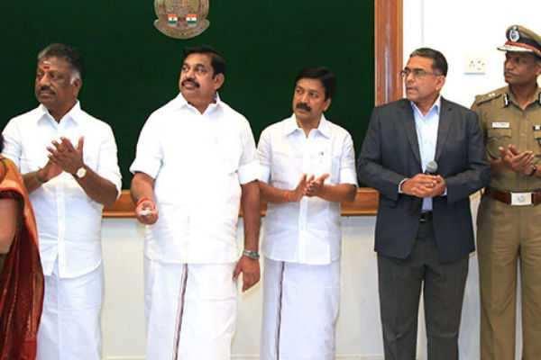5 புதிய மாவட்டங்களை தொடங்கி வைக்கிறார் முதல்வர்!