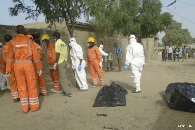 நைஜீரியாவில் தற்கொலைப்படைத் தாக்குதல்; 12 பேர் பலி