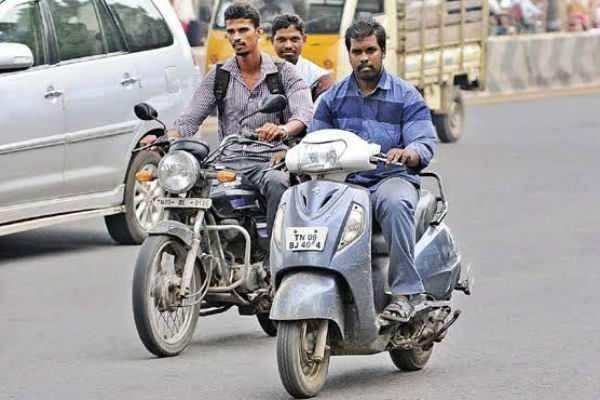 ஹெல்மெட்  விவகாரம்:  போலீசார் அதிரடி!