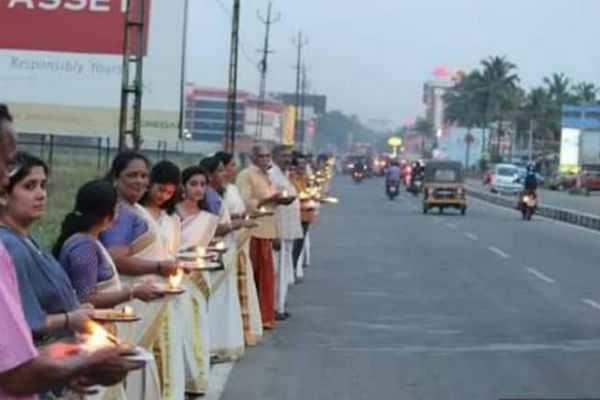 ஐயப்பனின் பாரம்பரியத்தை காப்பாற்ற வலியுறுத்தி 745 கிமீ பிரார்த்தனை பேரணி..!