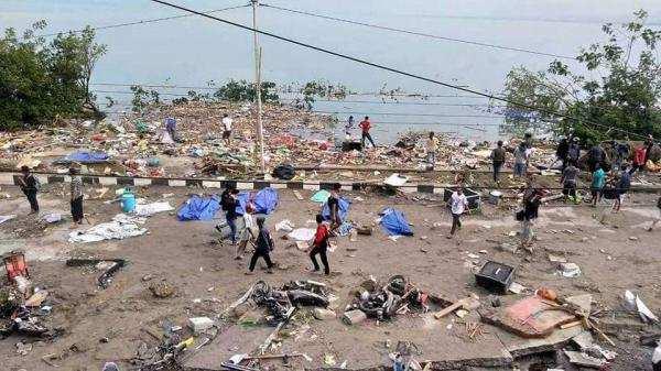 நடுங்க வைத்த நிலநடுக்கம், சுனாமி... இந்தோனேசியாவில் 1350 பேர் பலி!