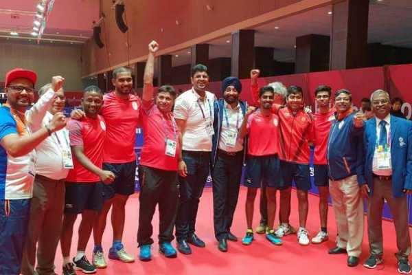 ஆசிய விளையாட்டு: டேபிள் டென்னிஸில் இந்தியாவுக்கு முதல் பதக்கம்