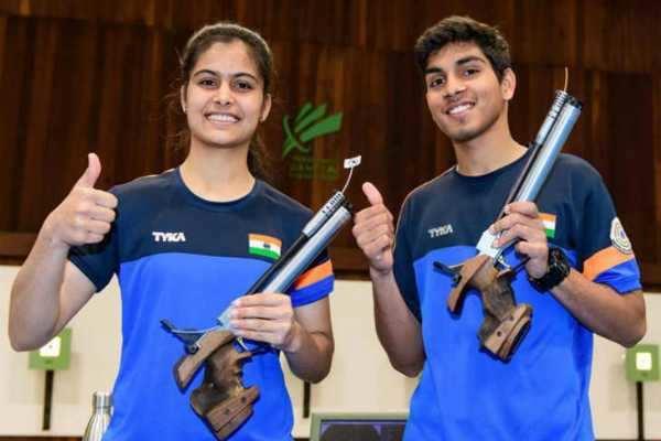 உலகக்கோப்பை துப்பாக்கிச் சுடுதல்: இந்தியாவுக்கு 5 பதக்கம்