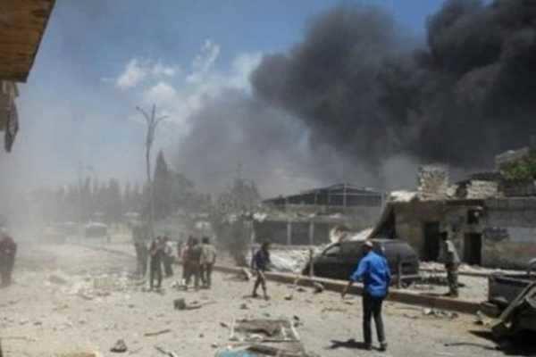 சிரியாவில் வான்வழி தாக்குதல்- 70 பேர் பலி
