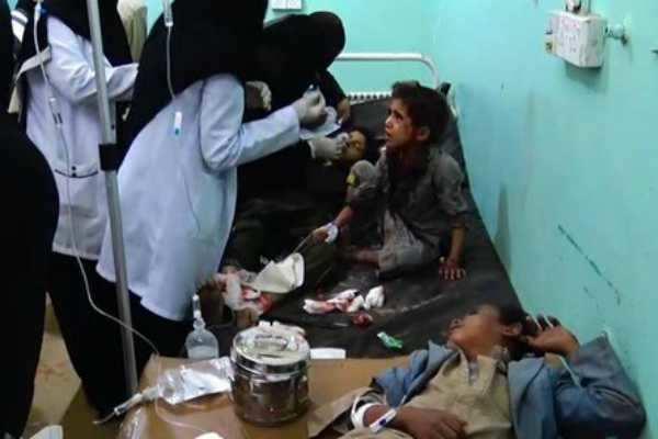 ஏமனில் கொடூரத்தாக்குதல்; 29 குழந்தைகள் உள்பட 50 பேர் பலி!