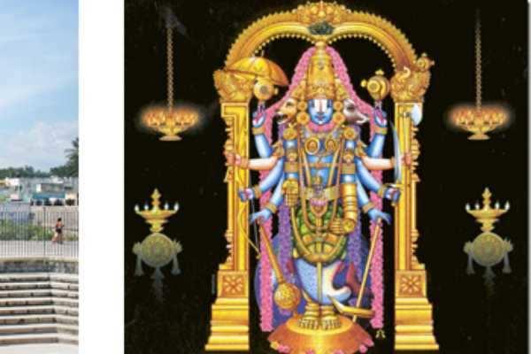 மச்ச அவதாரக் கோலத்தில்  அருள்பாலிக்கும் மஹா விஷ்ணு